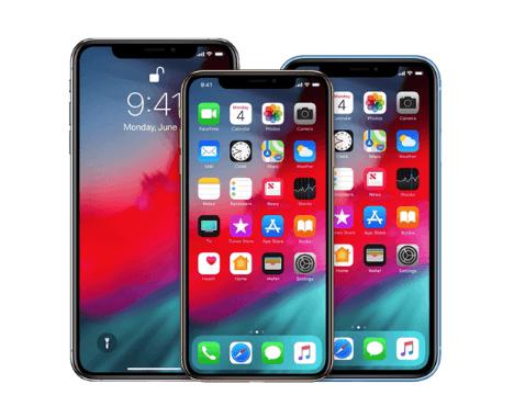 iphone x, xs, xr repair