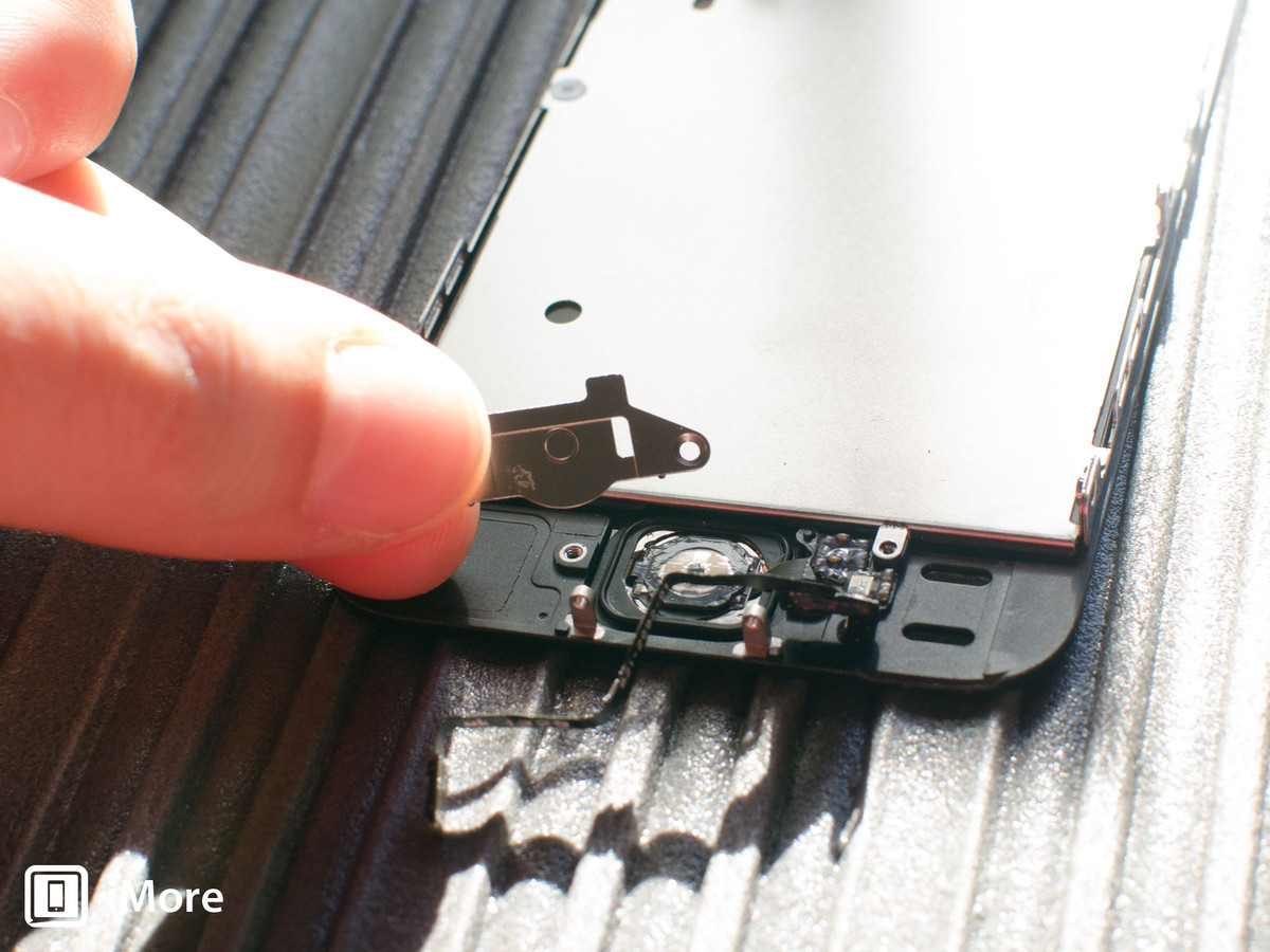 Removing metal shields in iPhone 5S