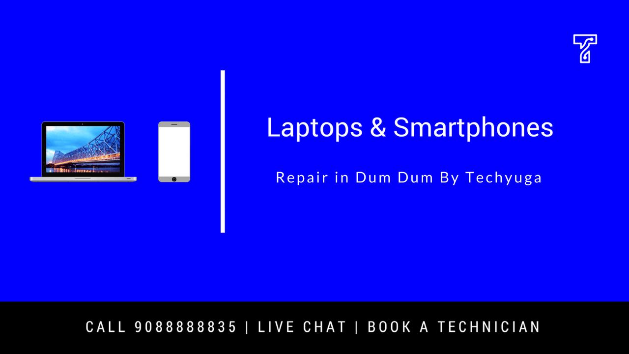 Laptop service center in Dum Dum