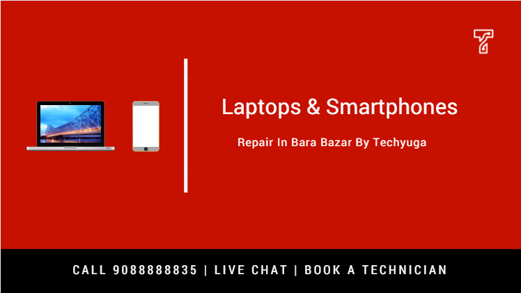 Laptop service center in Bara bazar