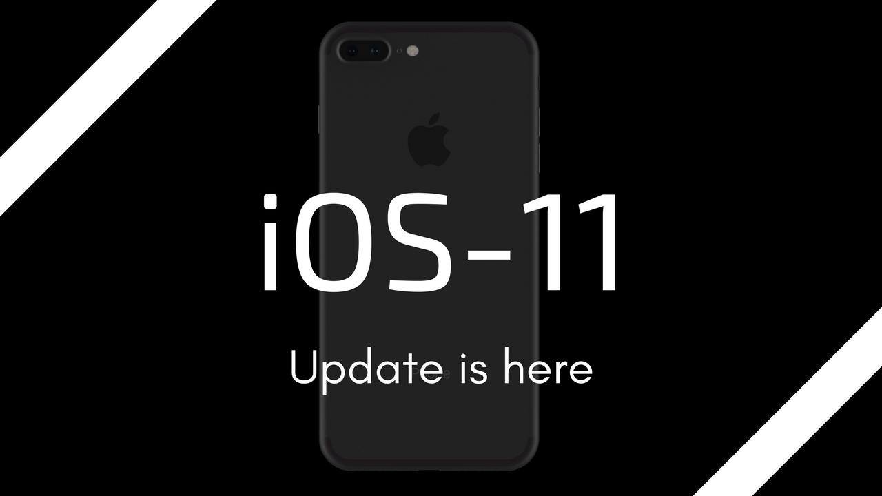 ios 11 update 2017
