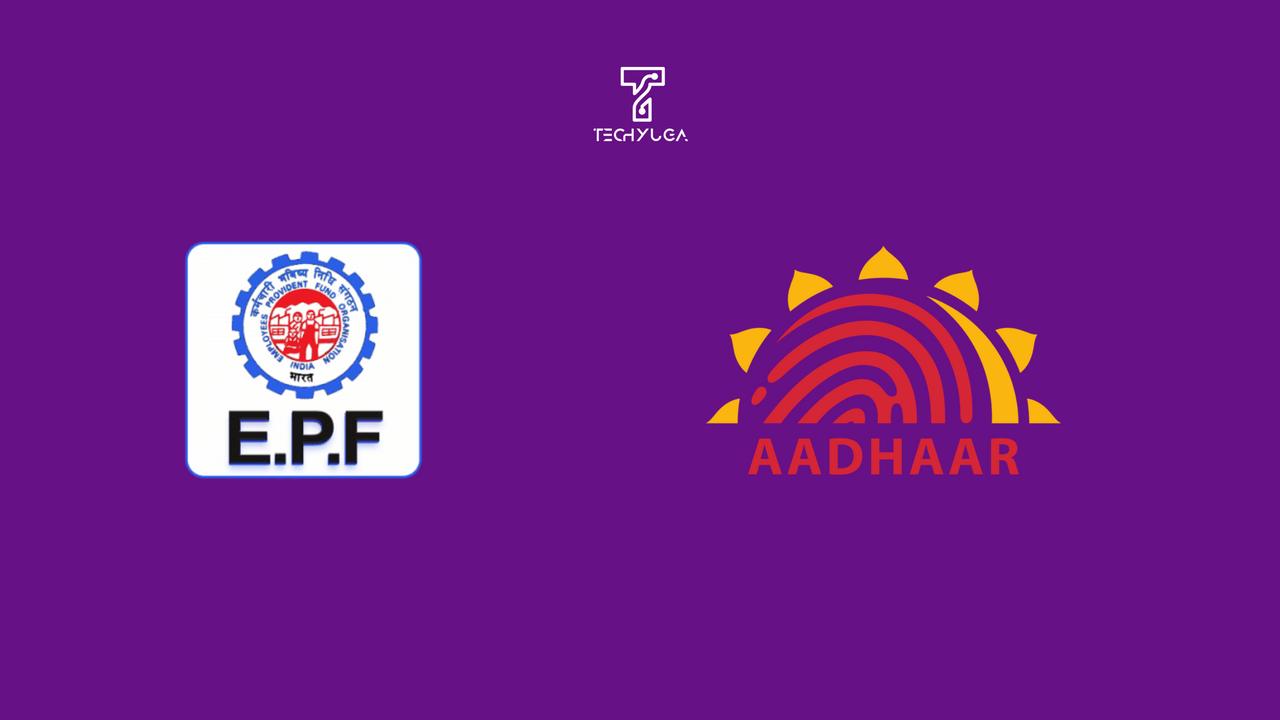 Link EPF Account With Aadhaar Card Number.link Aadhaar Card Number to EPF Account