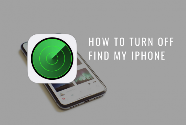 turn off Find My iPhone