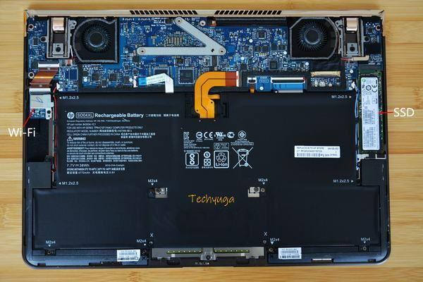 HP Spectre 13 Disassembly