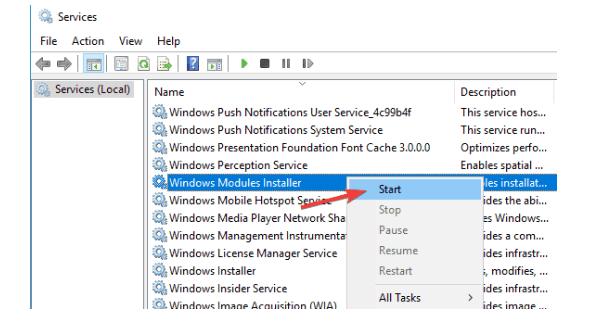 Fix Error 1935 in Windows 10_run