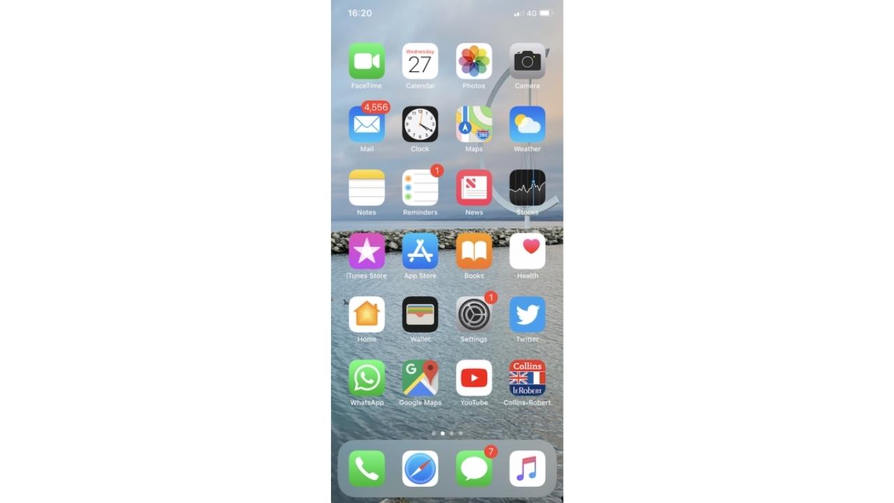 Start Again the iMessage app