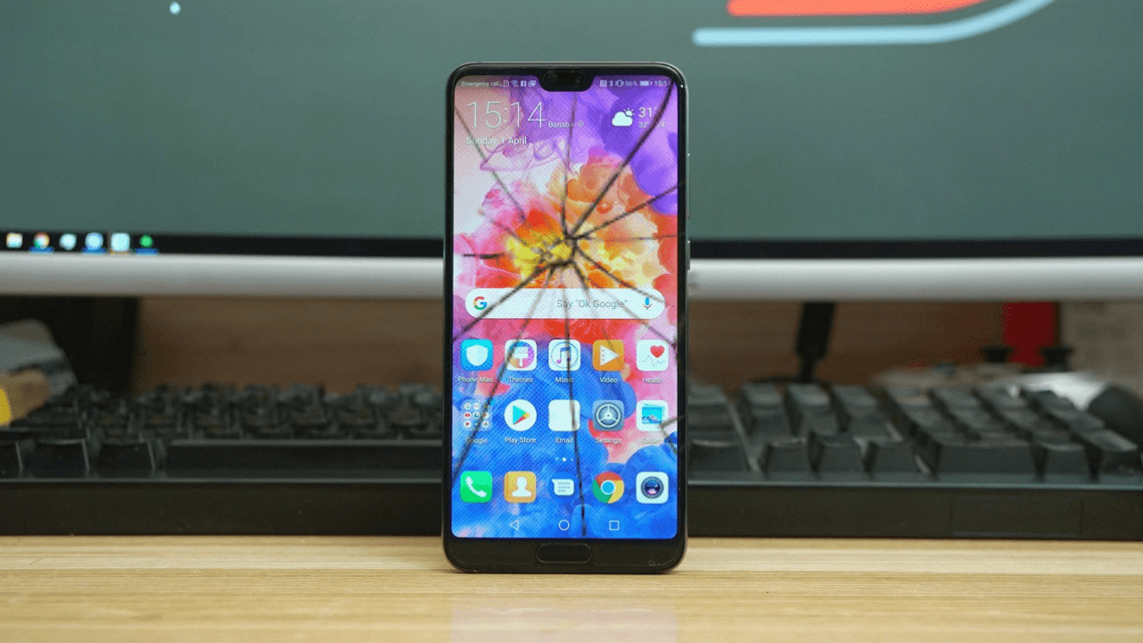 What is Huawei P20 Pro Screen replacement cost in India