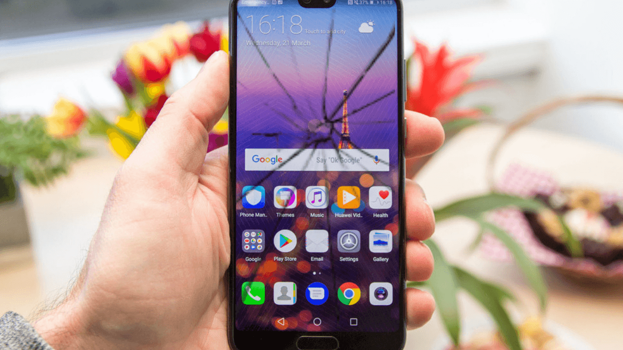 What is Huawei P20 Screen replacement cost in India