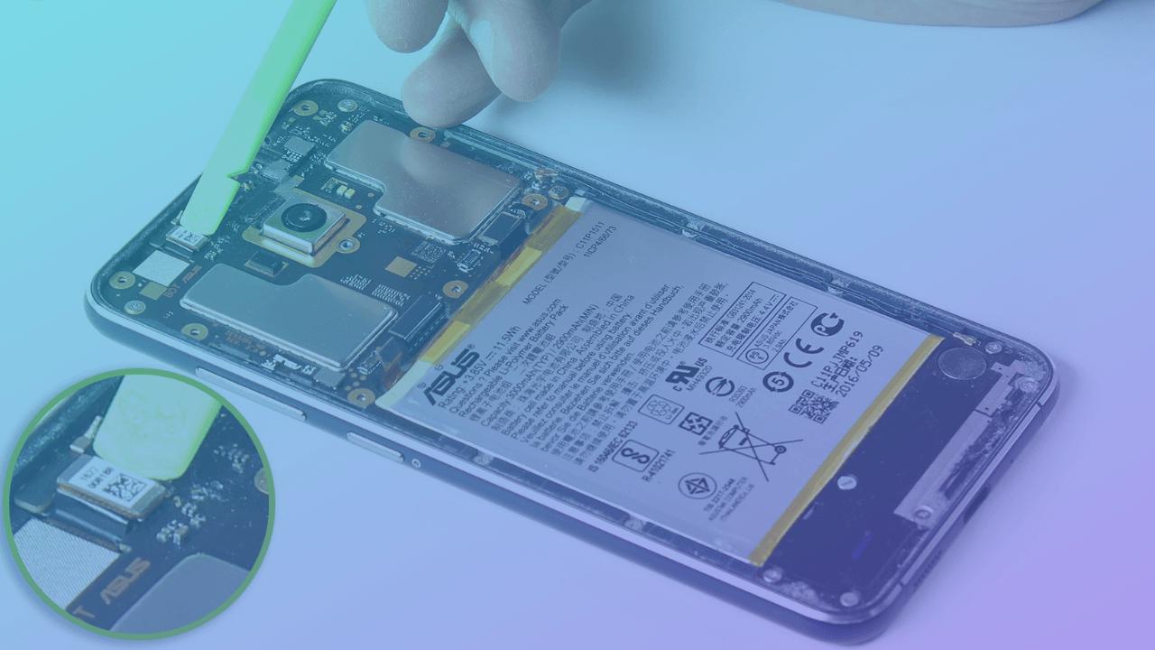 asus phone front camera replacement or repair