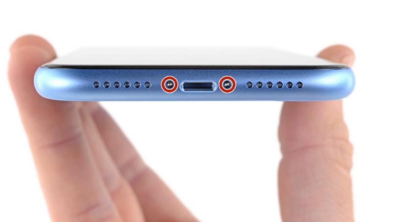 iphone xr pentalobe screws