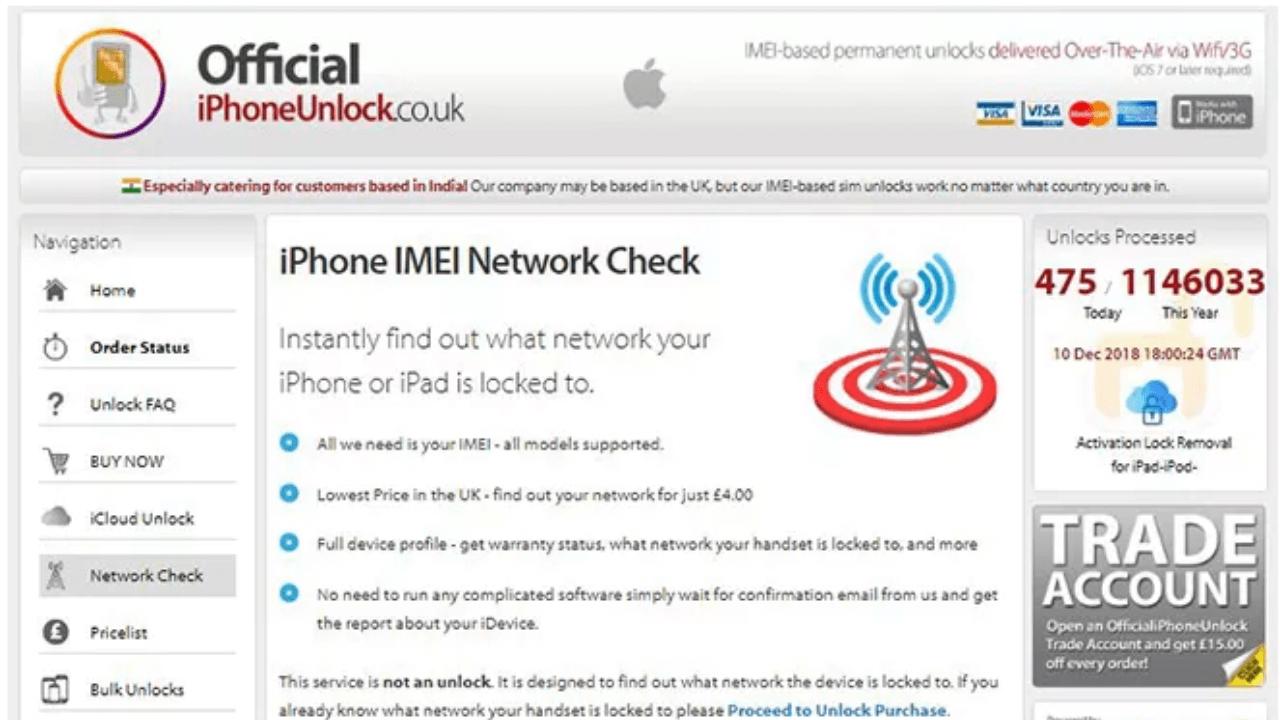 officialiphoneunlock online imei checker | unlock icloud, recover icloud password, reset apple id password | Get iPhone Repair from Techyuga