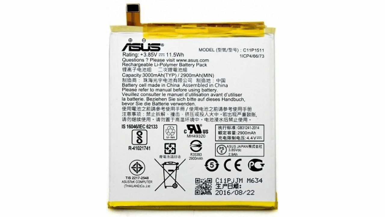Asus ZenFone 4 Selfie Pro (ZD552KL) battery replacement in India