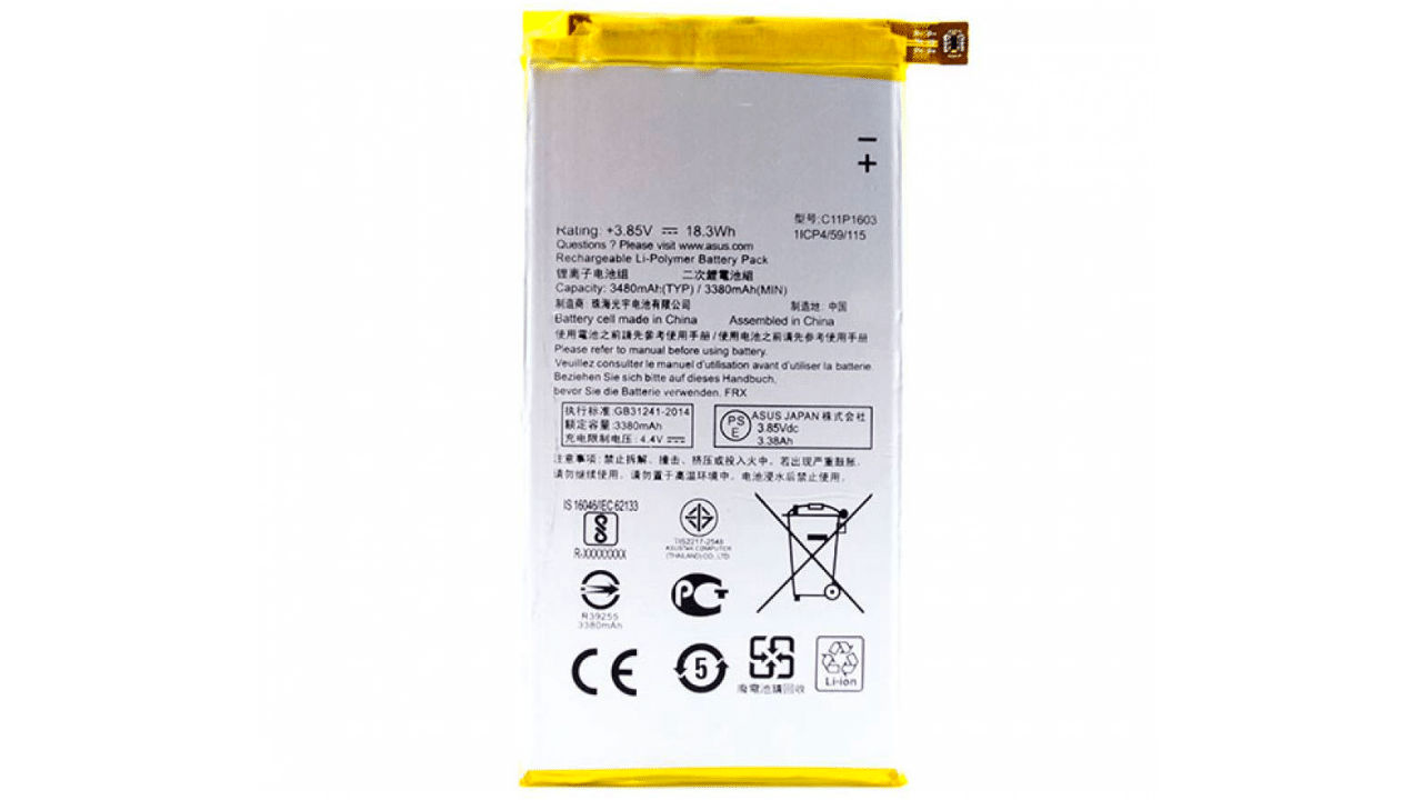 Asus ZenFone 3 Deluxe (ZS570KL) battery replacement in India
