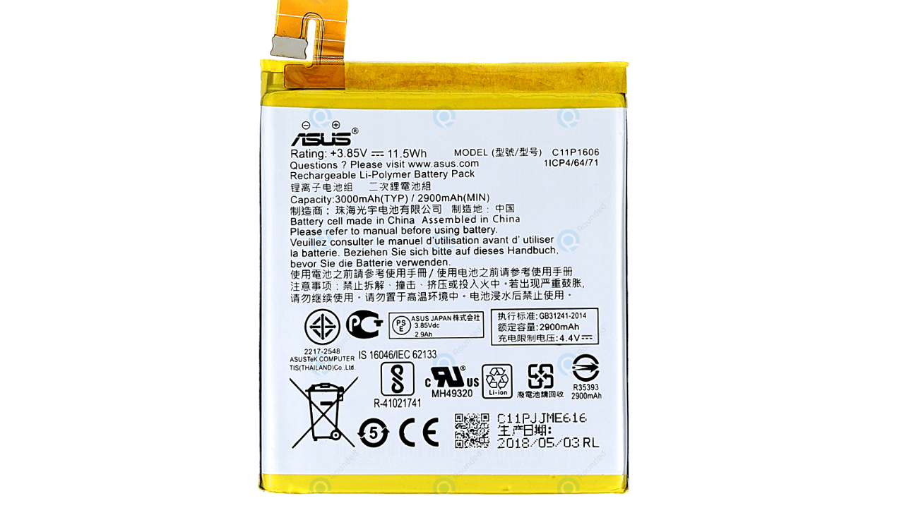 Asus Zenfone 3 Laser (ZC551KL) battery replacement in India