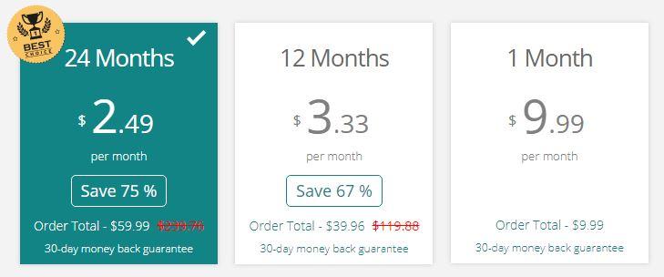 FrootVPN Price