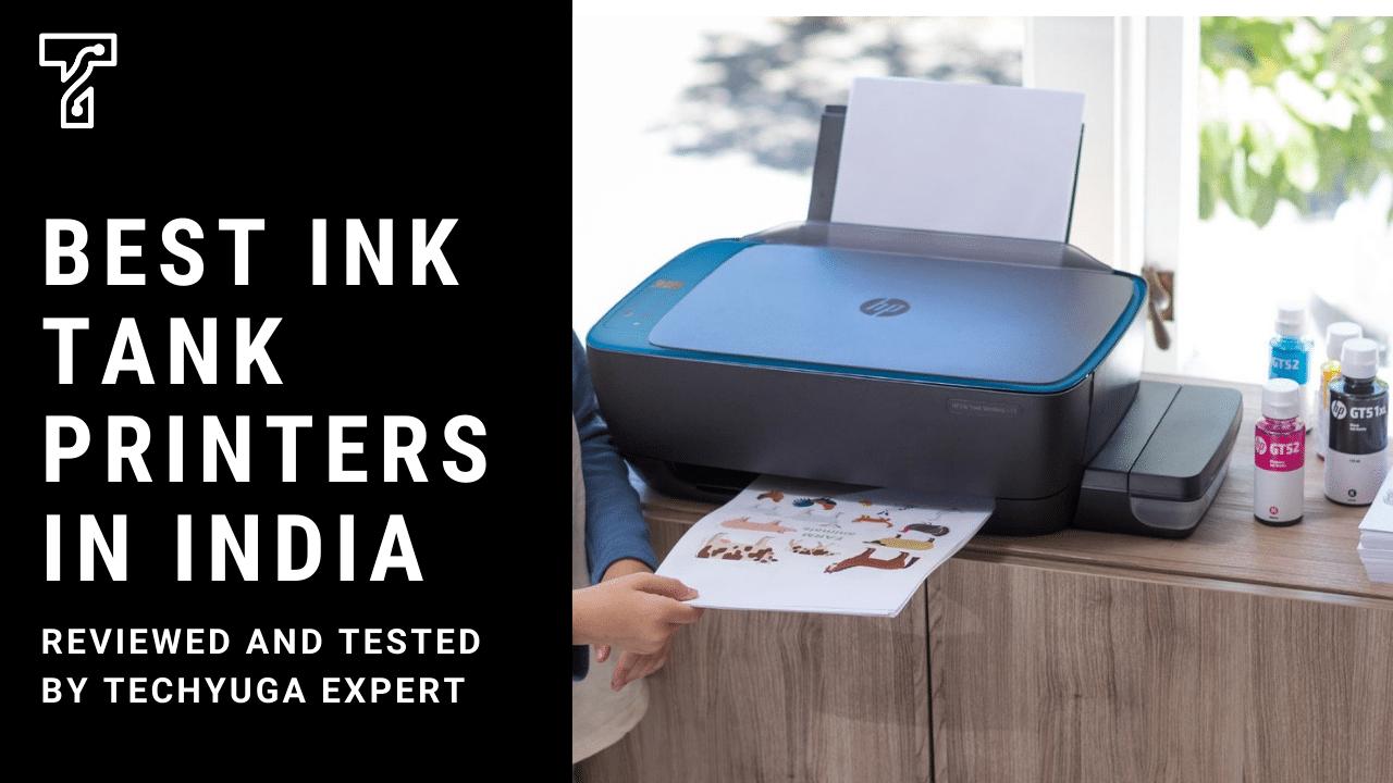 Best Ink Tank Printers In India