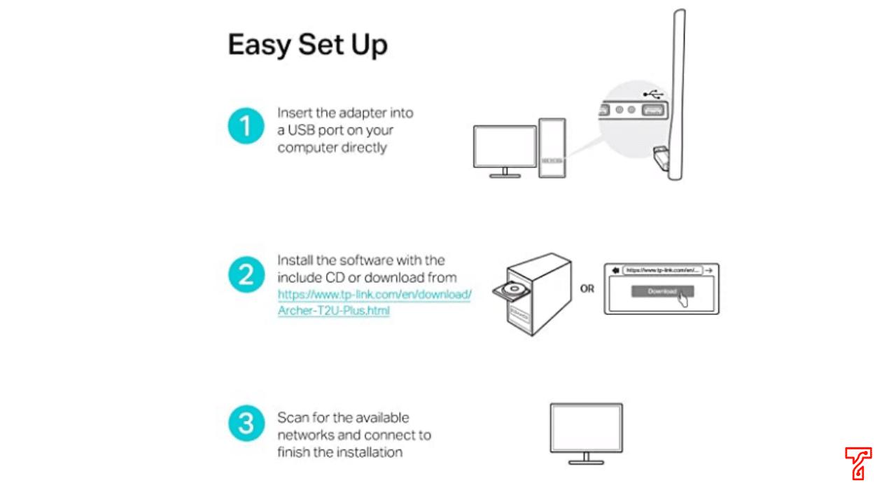 TP-Link TL-WN823N 300Mbps Mini Wireless-N USB Adapter installation