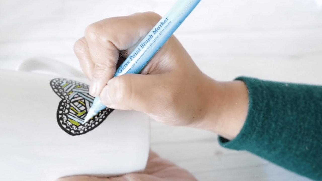 marker for glass
