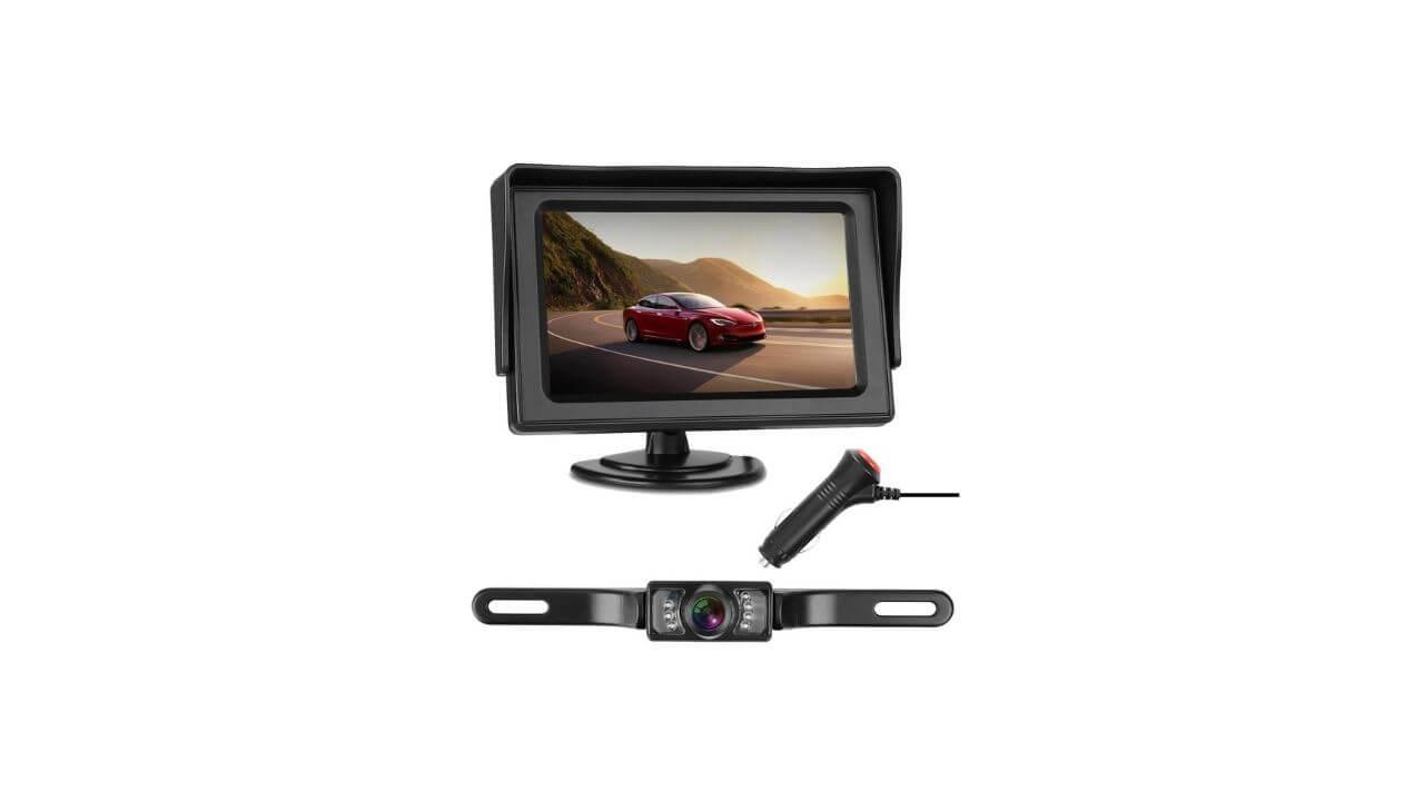 Night vision car reverse camera